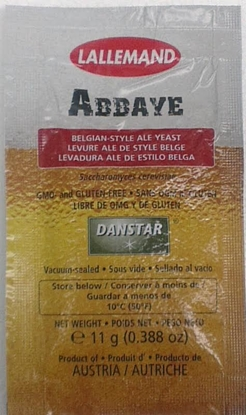 Picture of Lallemand Abbaye Belgian Ale Dried Yeast 11gm