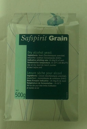 Picture of SafSpirit - Neutral Grain Spirit Dry Yeast 500g (Neutral Grain)