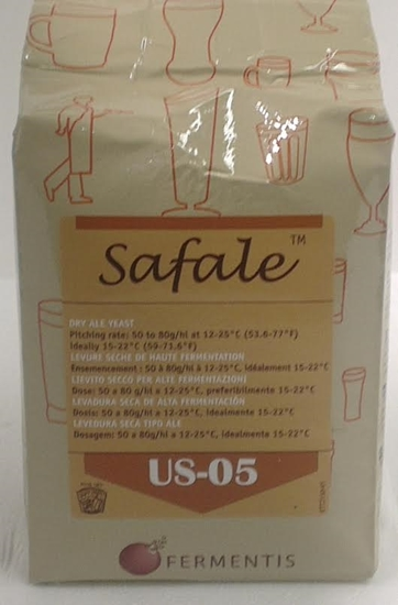 Picture of Fermentis - Safale US-05 (500 gram) - Dry Yeast (500gm BRICK)