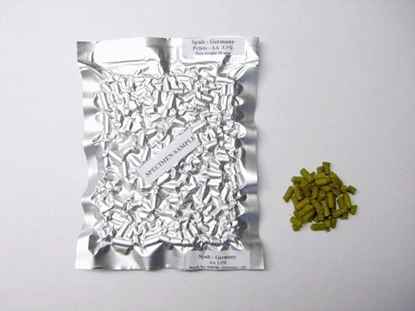 Picture of Green Bullet Hops (pellets 90gm)
