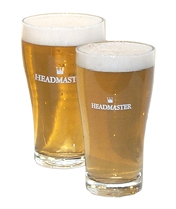 Picture of Glass Headmaster/Headstart Conical 425ml