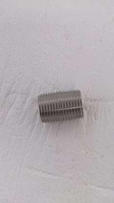 "Picture of Threaded Nipple 1/2"" x 1"""