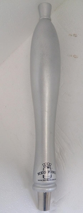 Picture of Tap Handle Wooden Silver KK