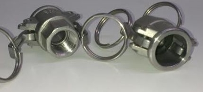 "Picture of Camlock Socket 1/2"" Bsp Female"