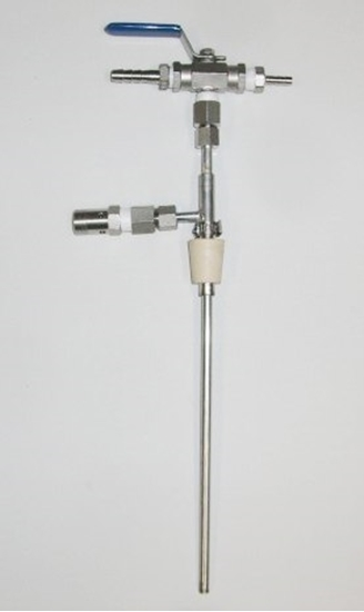 Picture of Counter Pressure Bottle Filler (Stainless Steel with Ball Valve)