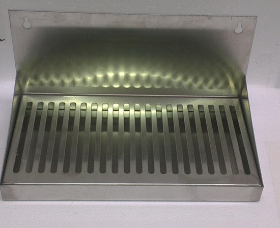 Picture of Drip Tray SS with splashback 30 cm
