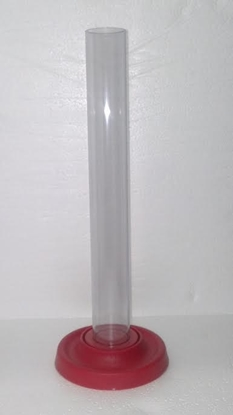 Picture of Hydrometer Test Tube (Red Base)