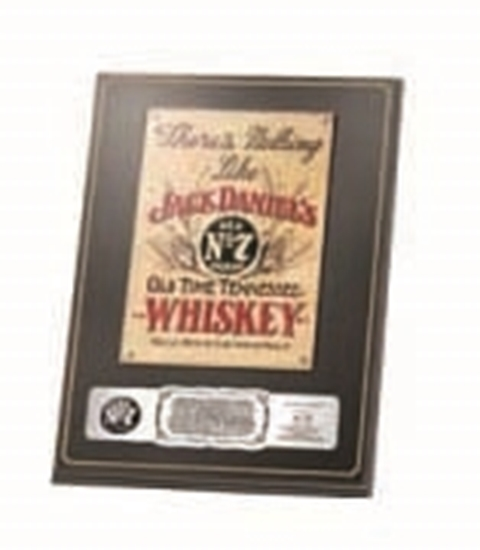 Picture of Plaque Collectable JD