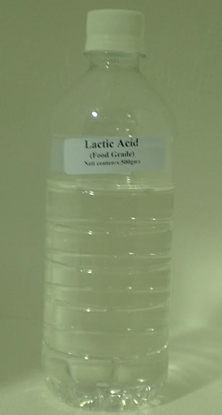 Picture of Lactic Acid 88% 500 Gram