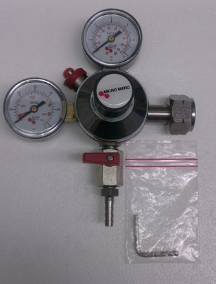 Picture of CO2 Regulator - Dual gauge (Micromatic)