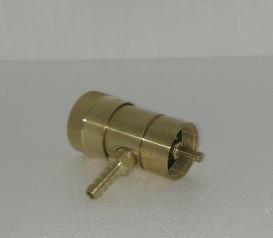 Picture of Oxygen Regulator for Bernzomatic Cylinders- Brass