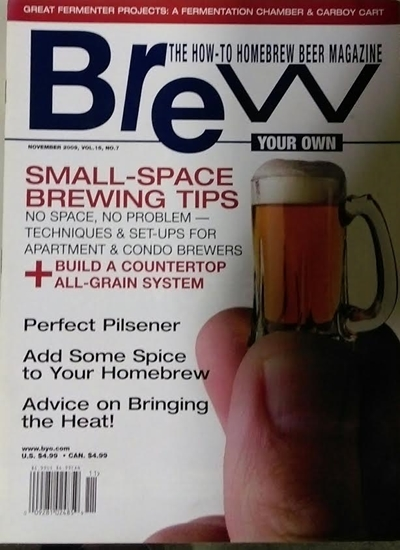 Picture of BYO November 2009 Edition
