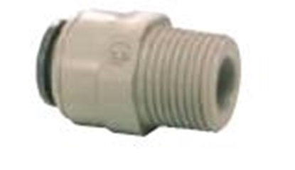 "Picture of Straight Adaptor 1/4"" BSP x 5/16"" (8mm)"