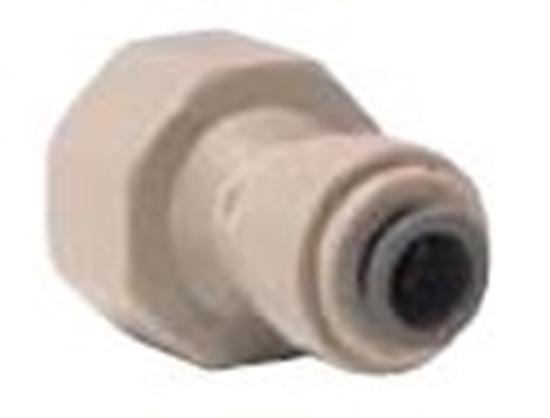 "Picture of Female Adaptor - Thread 1/2"" BSP x OD 5/16"" (8mm)"