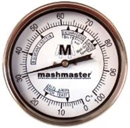 "Picture of Bi-Metal Thermometer Weldless (4"" Dial)"