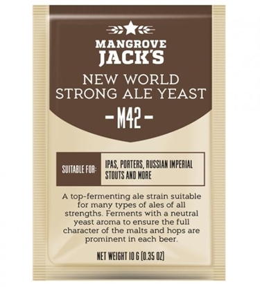 Picture of Mangrove Jack's M42 New World Yeast 10g