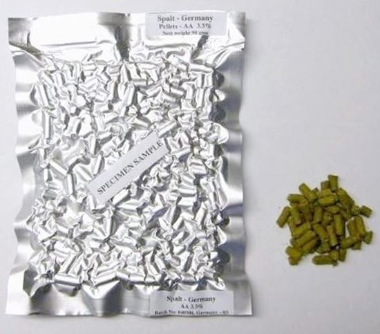 Picture of Pacific Hallertau (Pacifica)Hops (pellets 90gm)