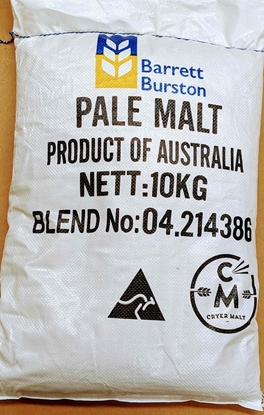 Picture of 10kg Sack - Pilsner Pale Malt (Barrett Burston)
