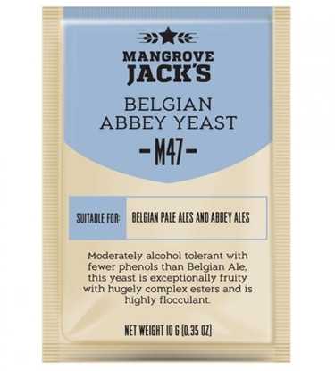 Picture of Mangrove Jack's M47 Belgian Abbey Yeast 10g